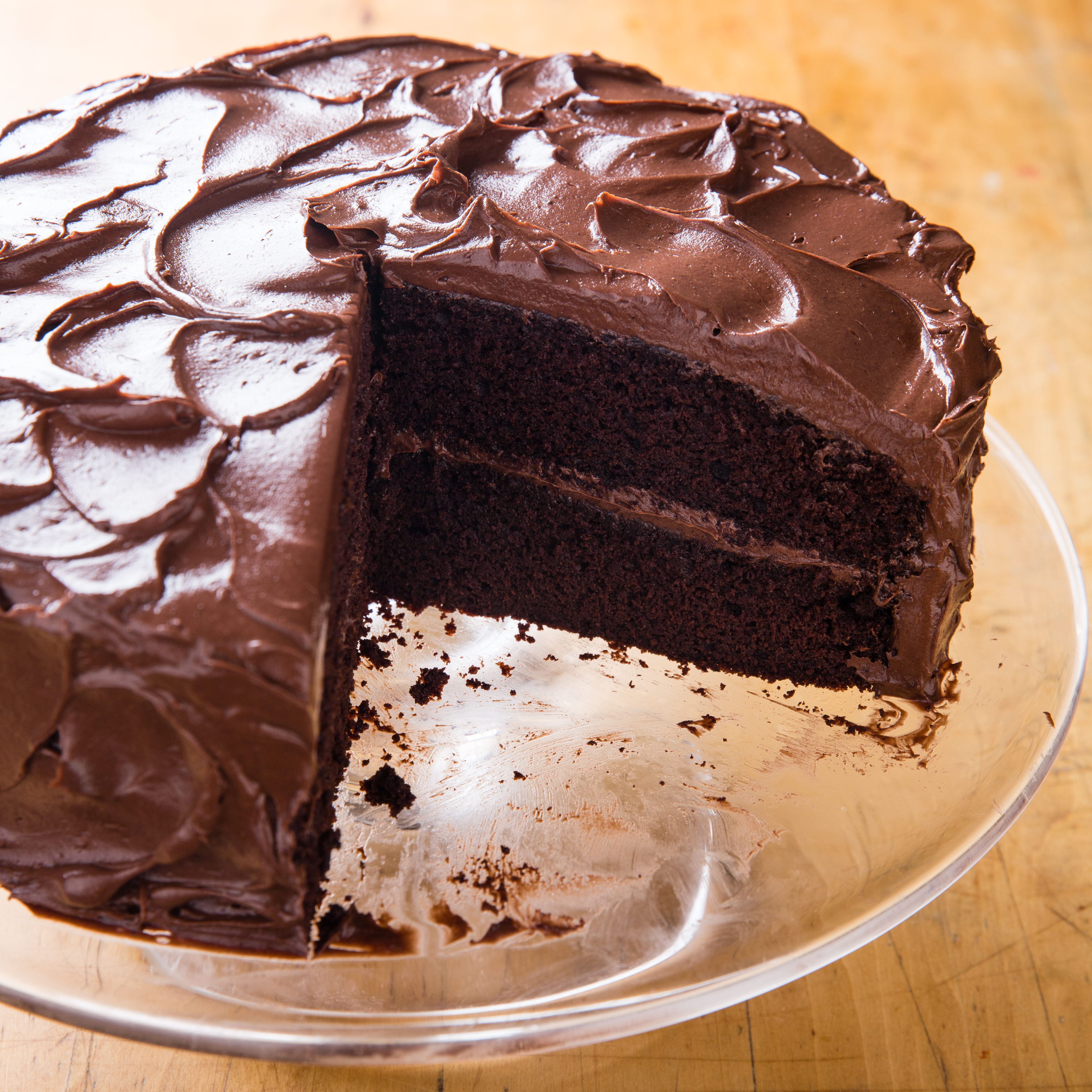 Chocolate Layer Cake Recipe  Chocolate Layer Cake