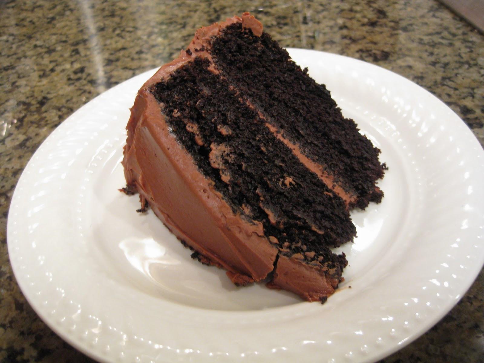 Chocolate Layer Cake Recipe  Food is Love Recipe Snapshot Best Ever Chocolate Layer Cake
