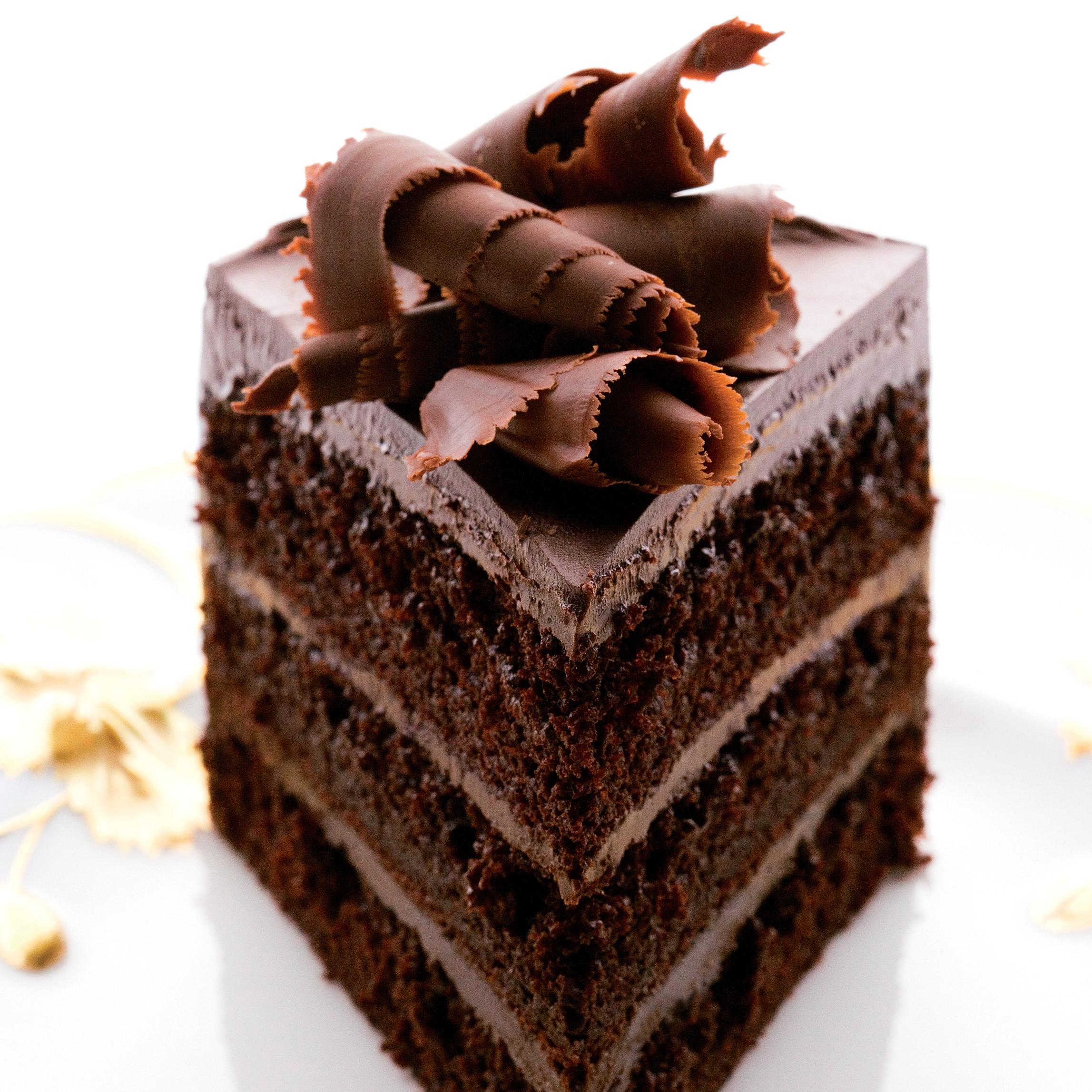 Chocolate Layer Cake Recipe  Fudgy Chocolate Layer Cake Recipe Andrew Shotts
