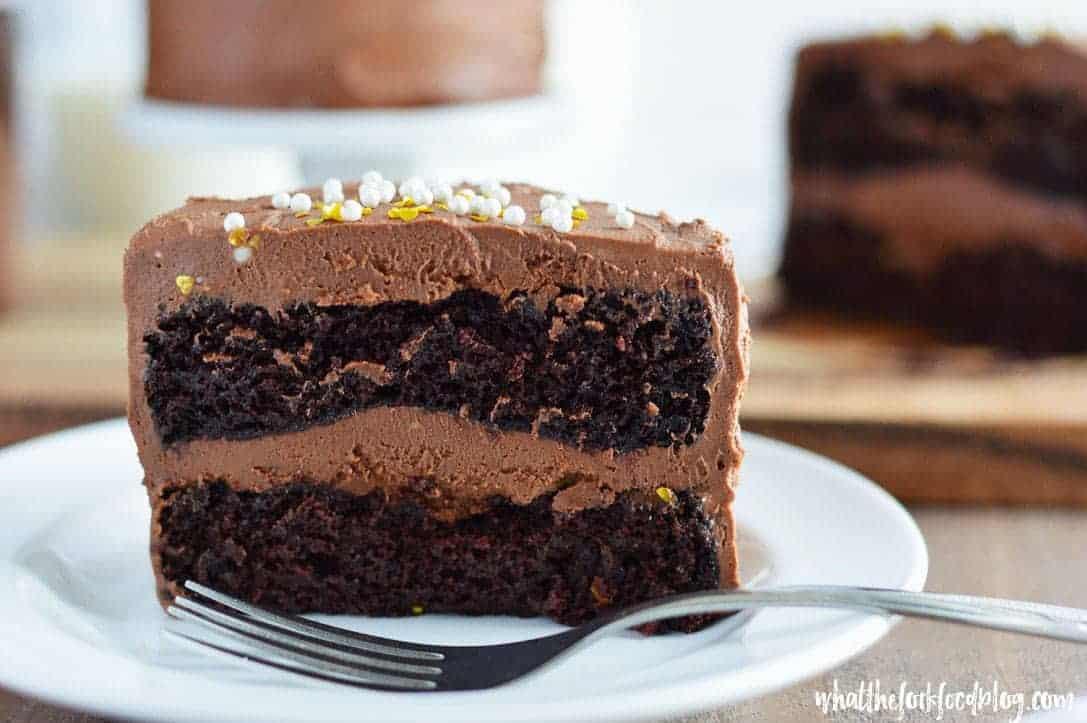 Chocolate Layer Cake Recipe  Mini Chocolate Layer Cake Recipe What the Fork