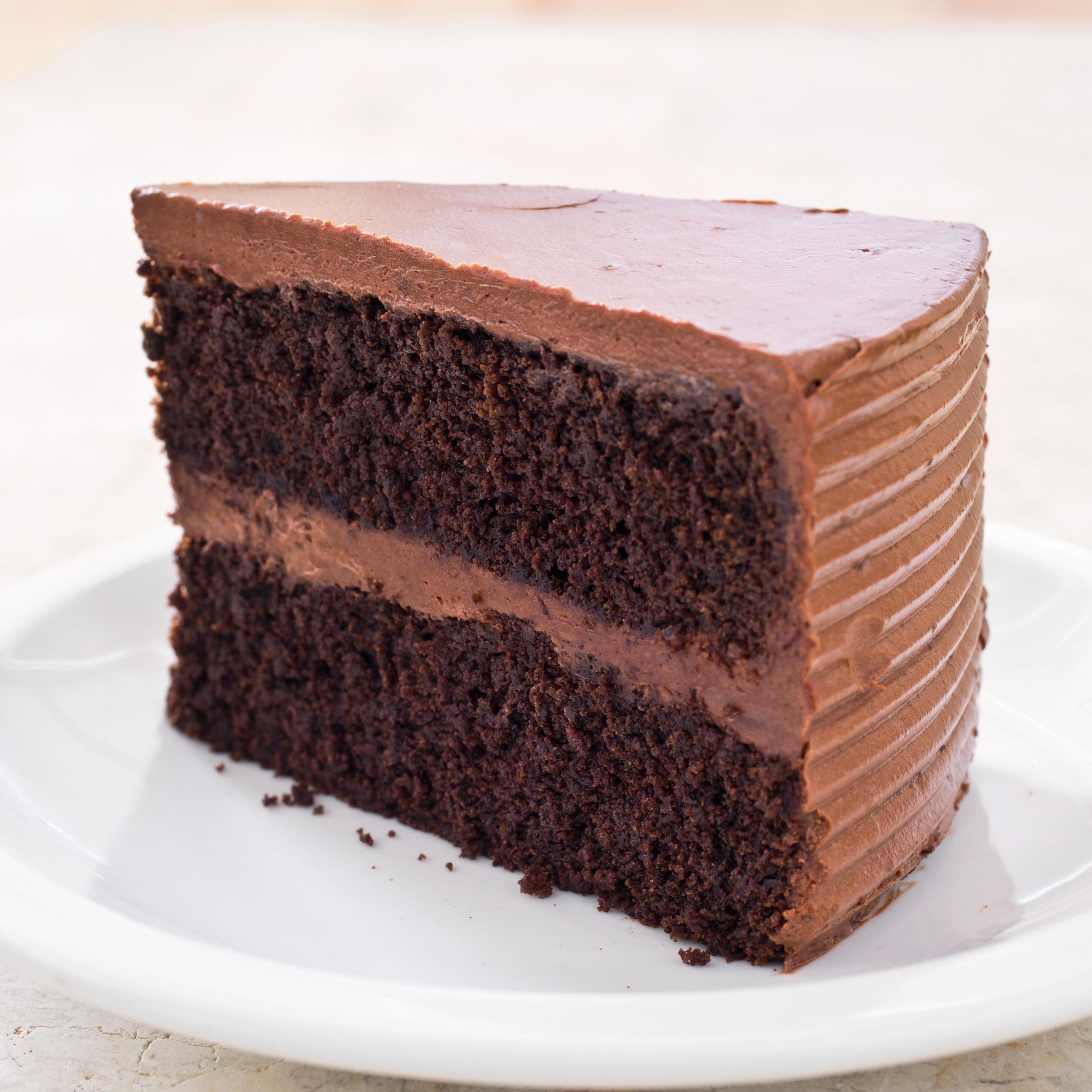 Chocolate Layer Cake Recipe  Gluten Free Chocolate Layer Cake