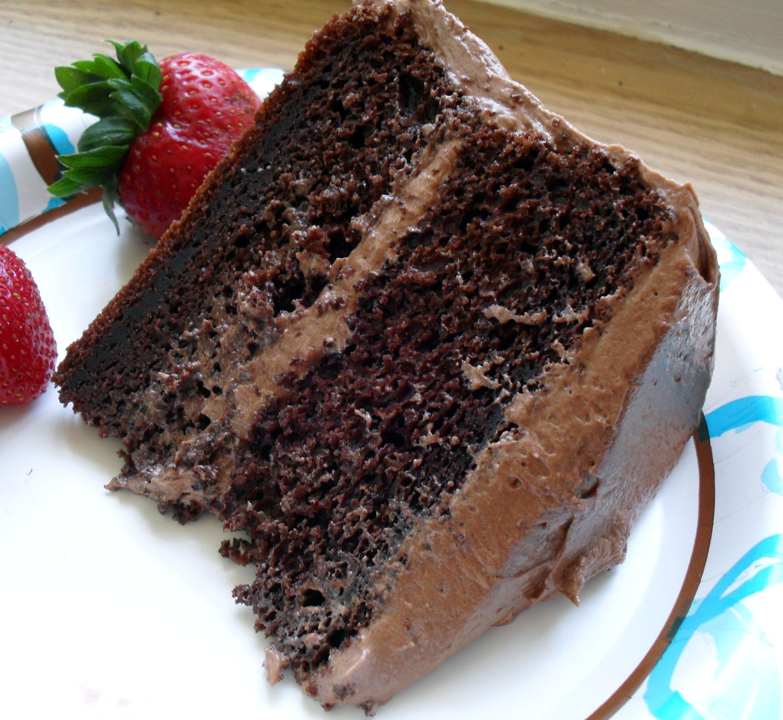 Chocolate Layer Cake  List of Christmas Cake Flavors