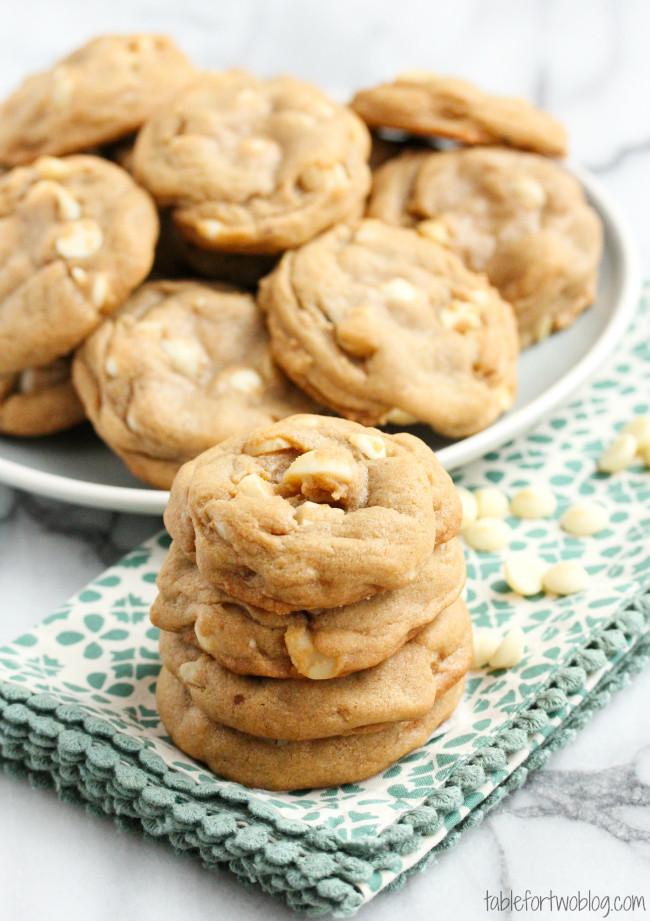 Chocolate Macadamia Nut Cookies  White Chocolate Macadamia Nut Cookies Table for Two by