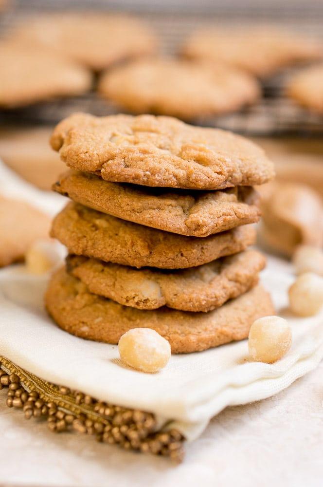 Chocolate Macadamia Nut Cookies  Paleo White Chocolate Macadamia Nut Cookies