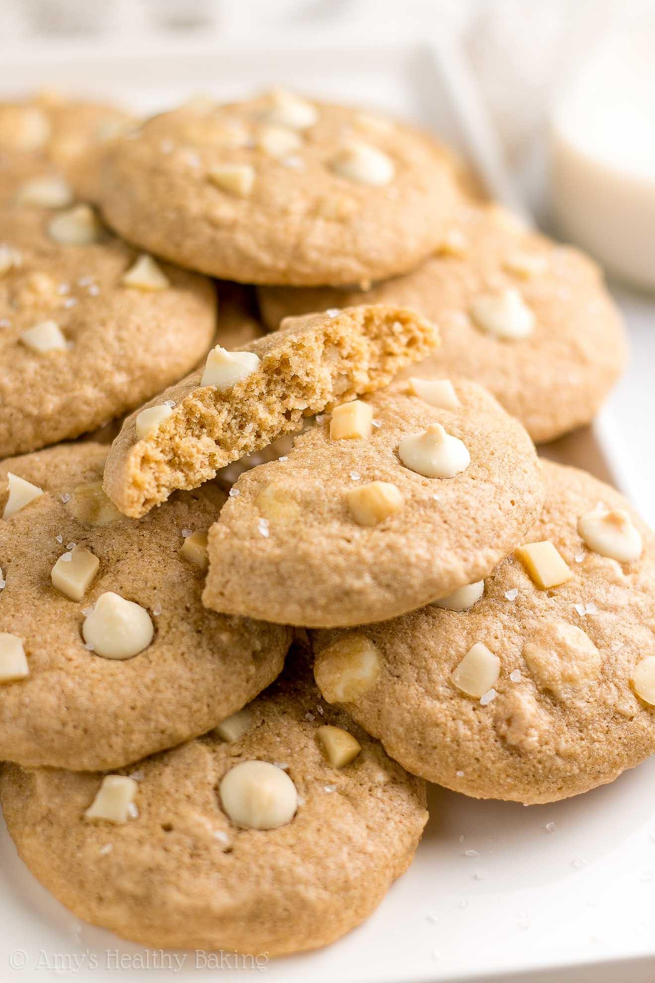 Chocolate Macadamia Nut Cookies  The Ultimate Healthy White Chocolate Macadamia Nut Cookies