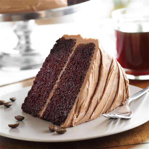 Chocolate Mocha Cake  Mocha Chocolate Cake with Butter Mocha Frosting