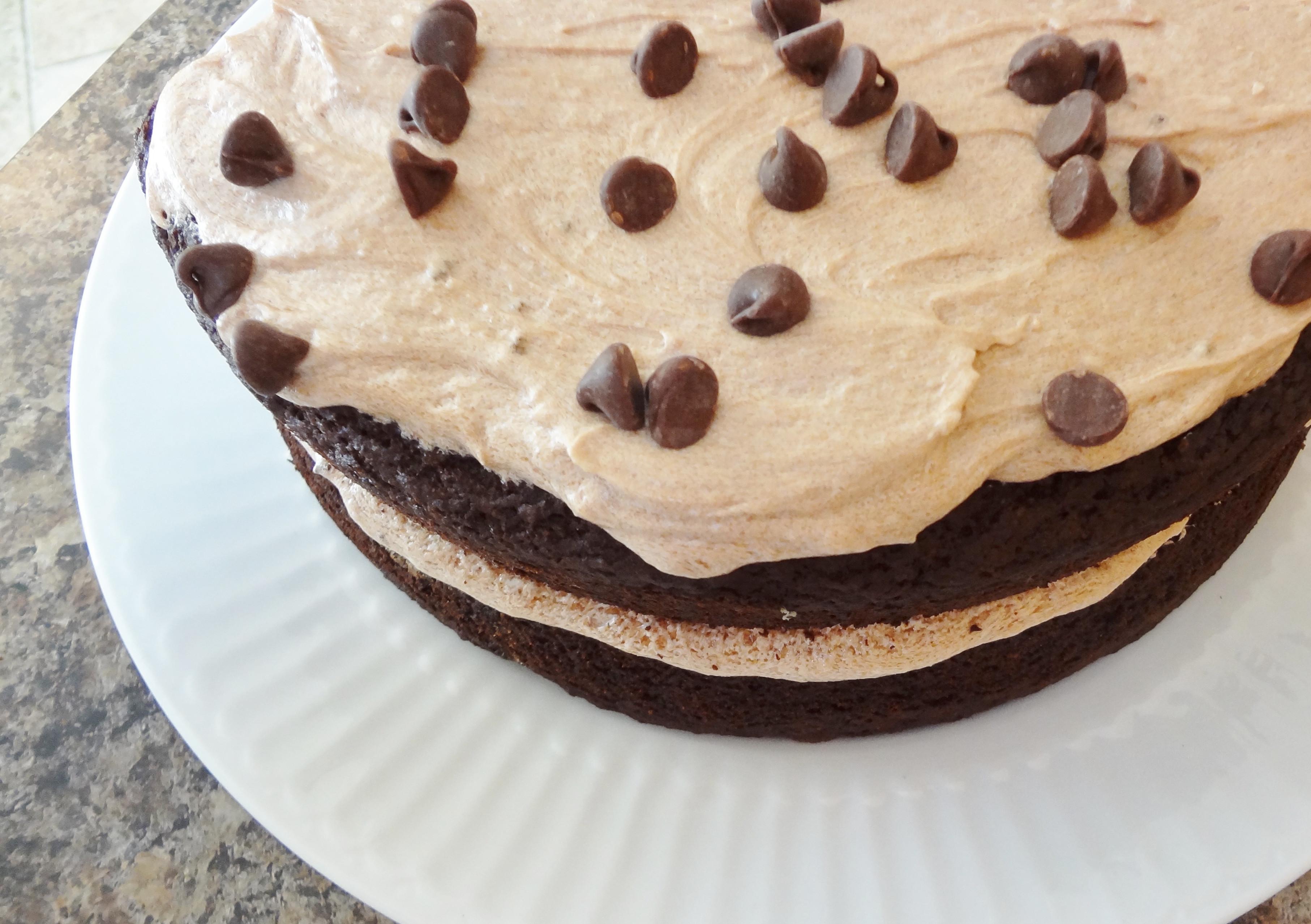 Chocolate Mocha Cake  Gluten Free Mocha Chocolate Cake with Mocha Frosting • The