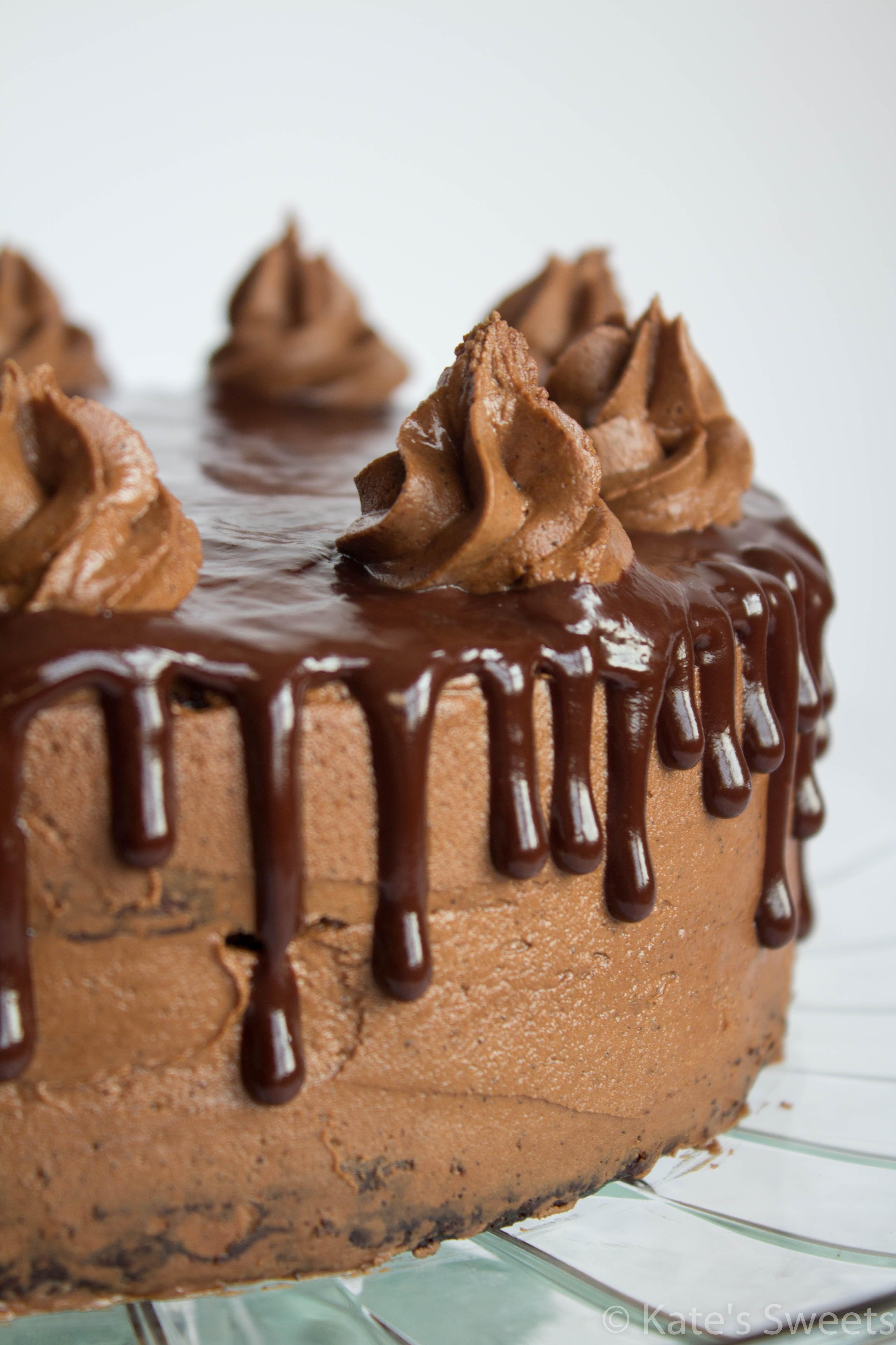 Chocolate Mocha Cake  Mocha Chocolate Cake Kate s Sweets