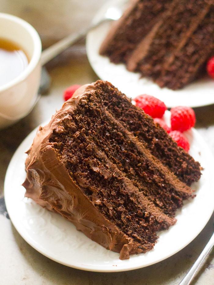 Chocolate Mocha Cake  Vegan Mocha Layer Cake Connoisseurus Veg