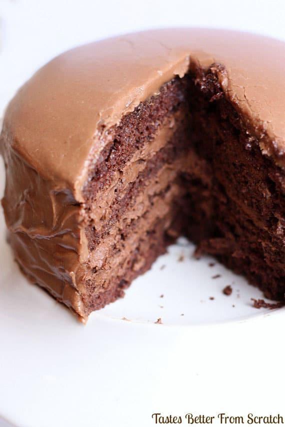 Chocolate Mousse Cake Filling  Chocolate Cake with Chocolate Mousse Filling