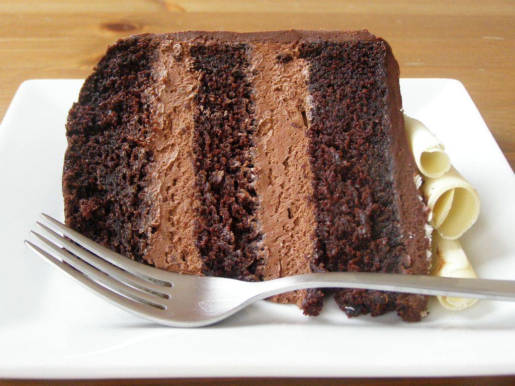 Chocolate Mousse Cake Filling  Recipe