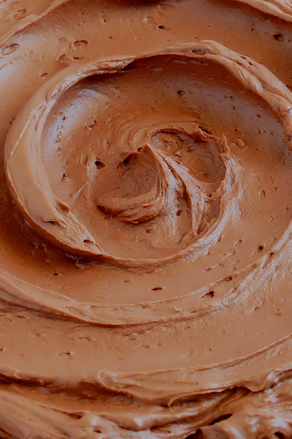 Chocolate Mousse Frosting  Chocolate Mousse Buttercream Frosting 3 ways Wicked