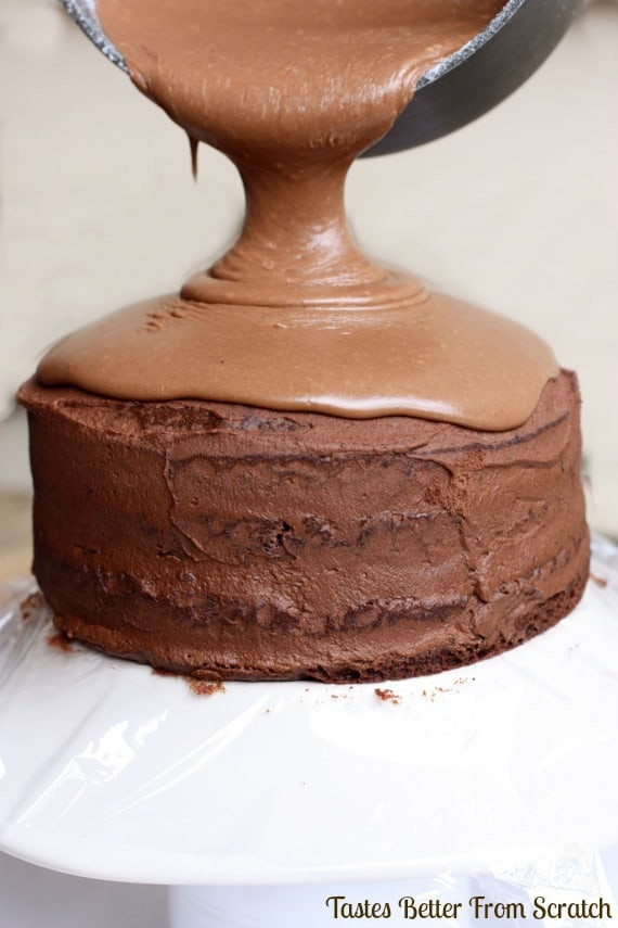 Chocolate Mousse Frosting  Chocolate Cake with Chocolate Mousse Filling