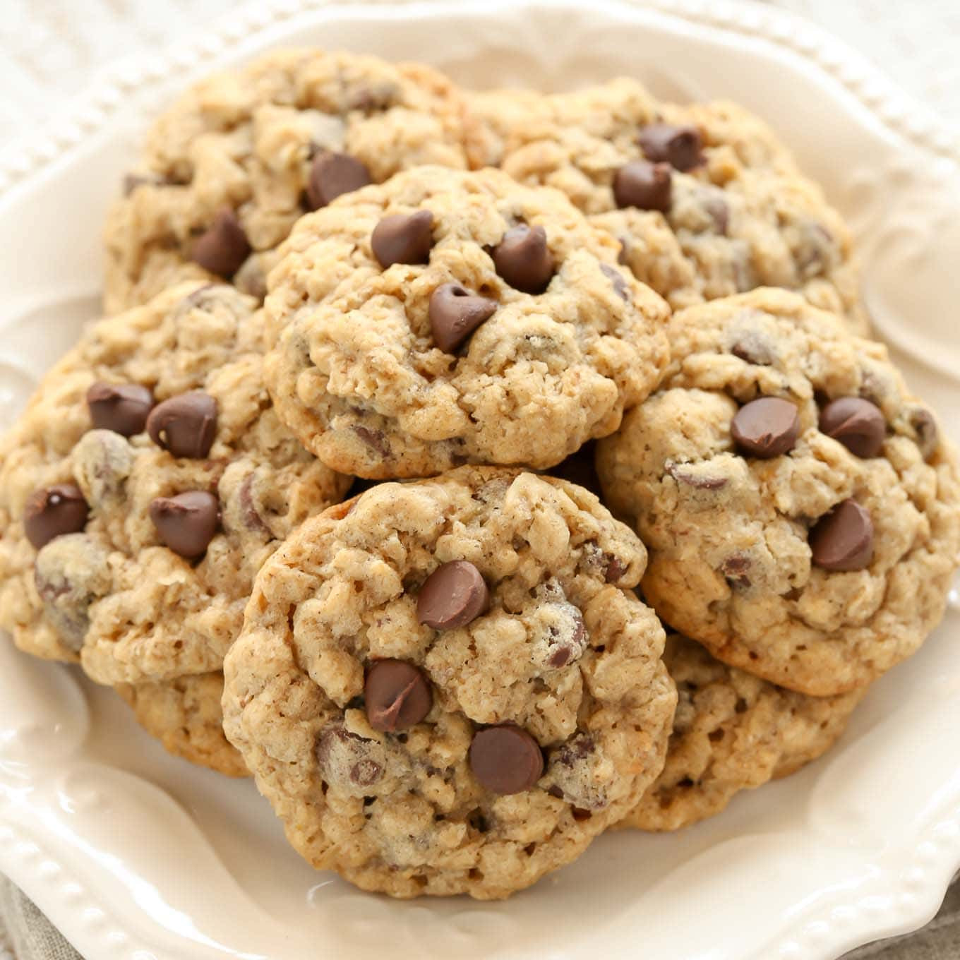 Chocolate Oatmeal Cookies  Soft and Chewy Oatmeal Chocolate Chip Cookies Live Well