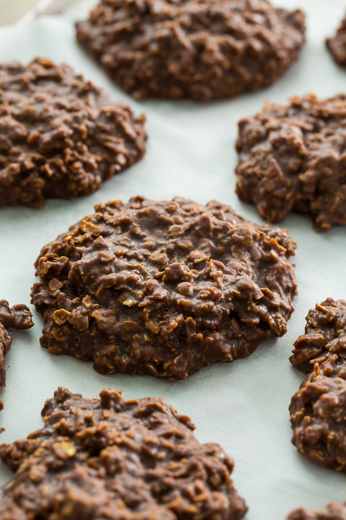 Chocolate Oatmeal Cookies  No Bake Chocolate Oatmeal Cookies Spicy Southern Kitchen