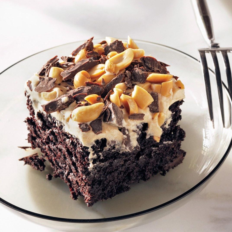 Chocolate Peanut Butter Cake Recipe  Chocolate Peanut Butter Fun Cake recipe