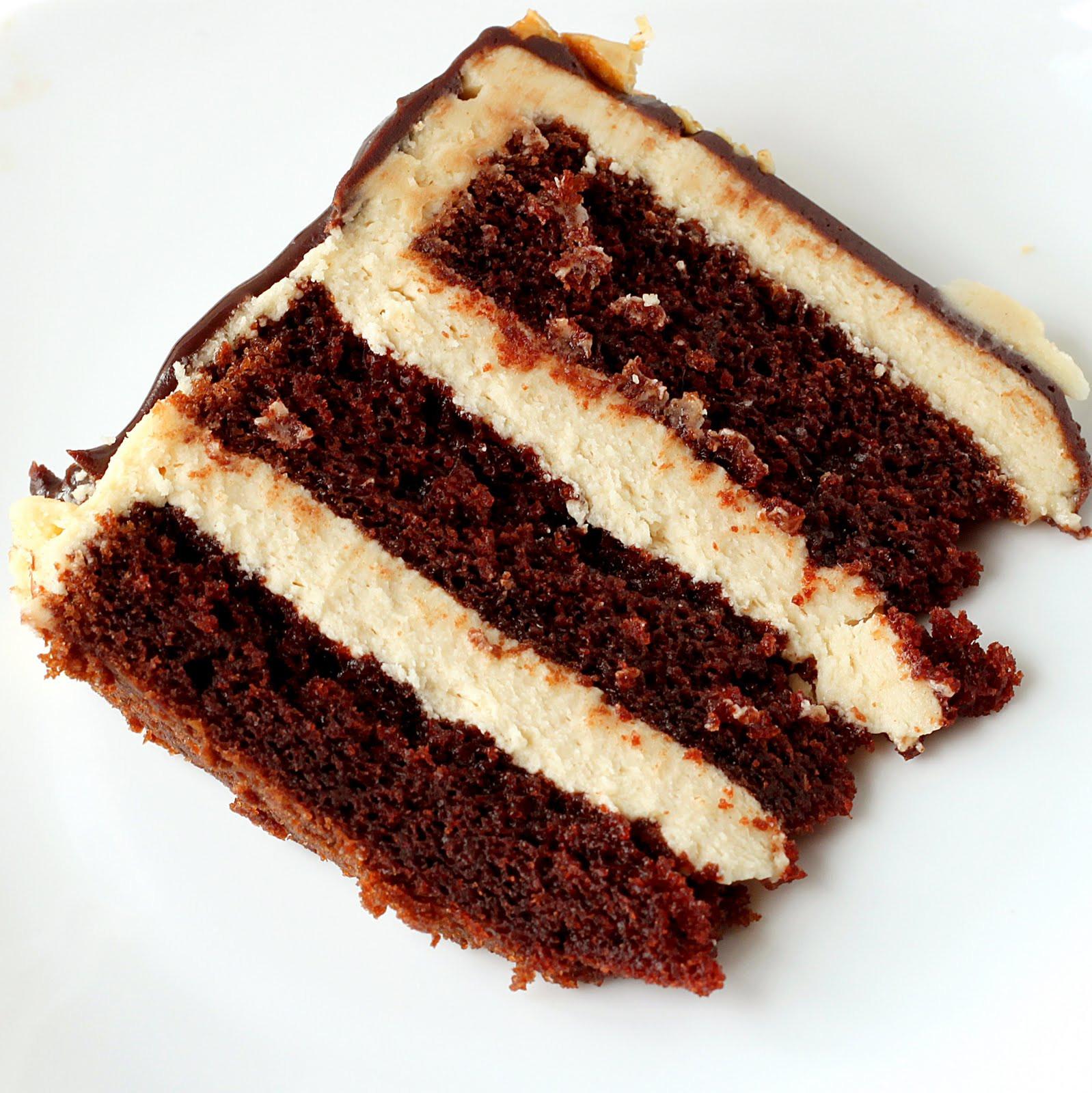 Chocolate Peanut Butter Cake Recipe  Sugar Cooking Chocolate Peanut Butter Cake