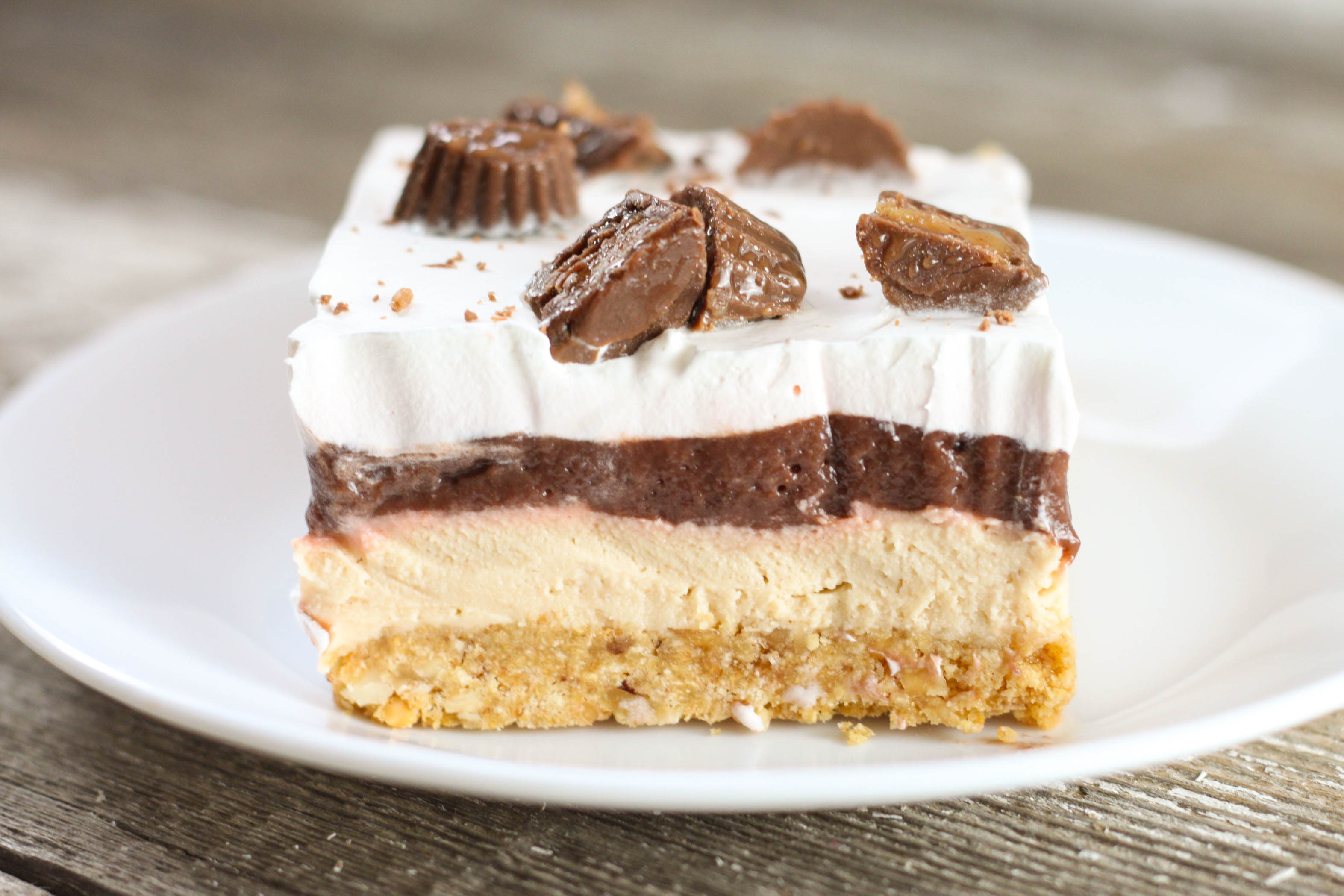 Chocolate Peanut Butter Dessert Recipe  No Bake Chocolate Peanut Butter Delight The Farmwife Cooks