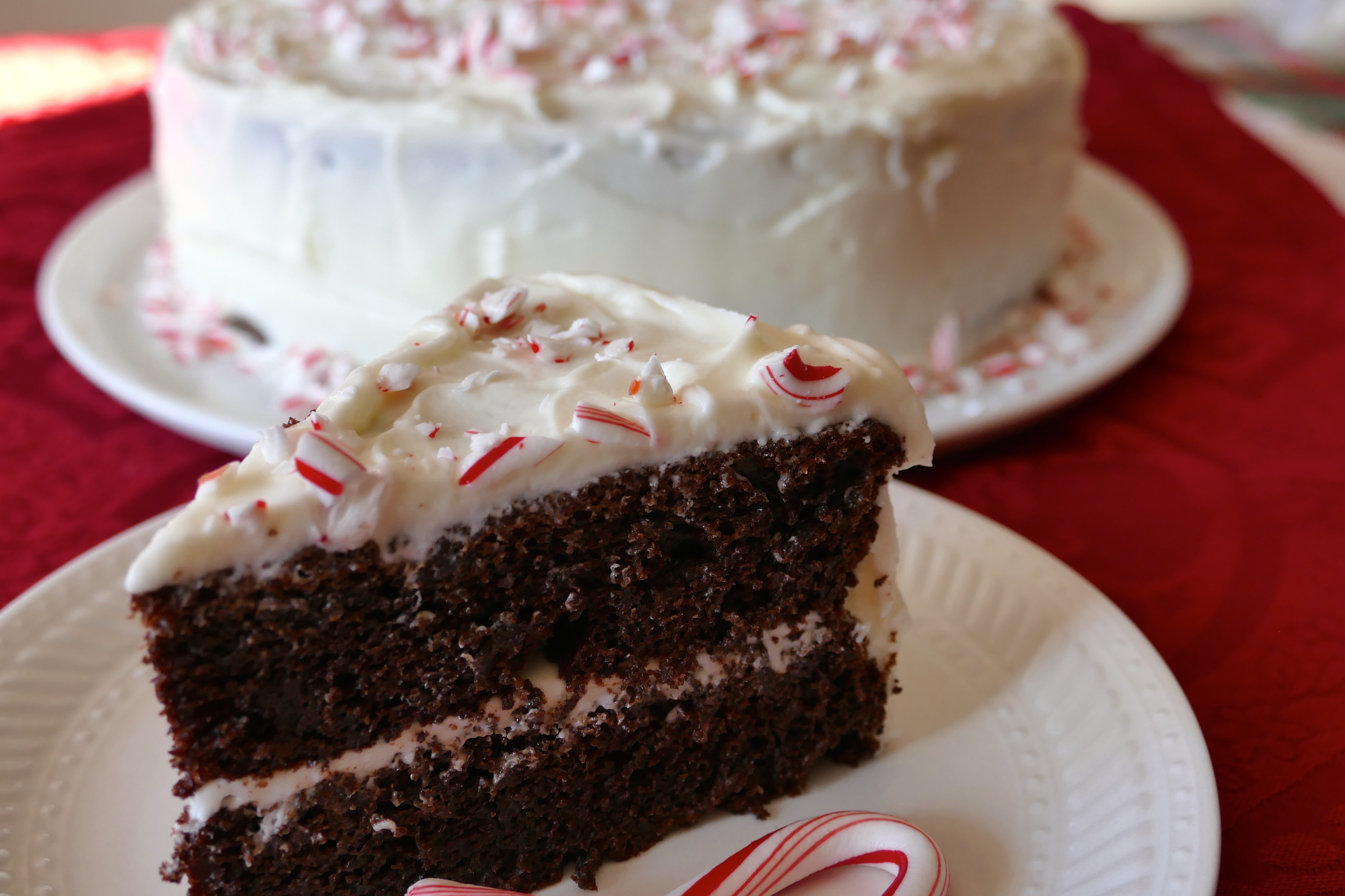 Chocolate Peppermint Cake  Dark Chocolate Peppermint Cake