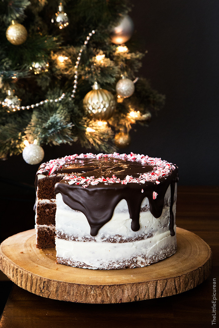 Chocolate Peppermint Cake  Chocolate Peppermint Cake The Little Epicurean