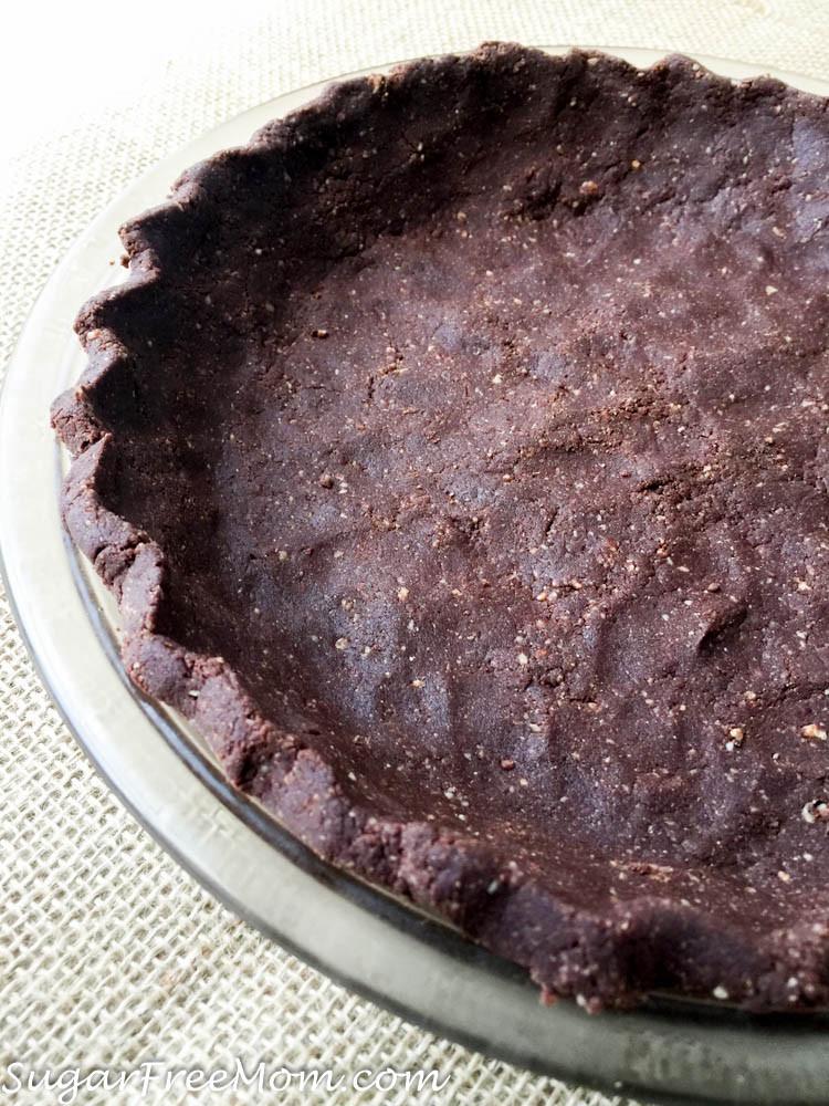 Chocolate Pie Crust  No Bake Coconut Flour Chocolate Pie Crust Low Carb Nut