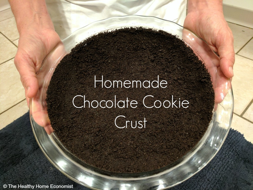 Chocolate Pie Crust  Chocolate Cookie Pie Crust Recipe