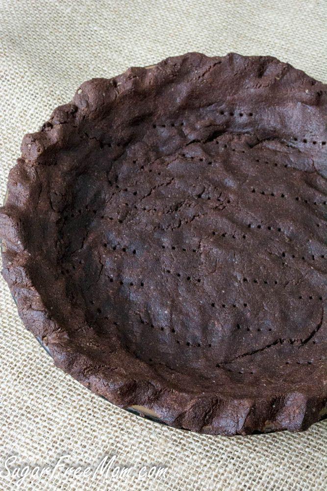 Chocolate Pie Crust  Low Carb Nut Free Grain Free Chocolate Pie Crust