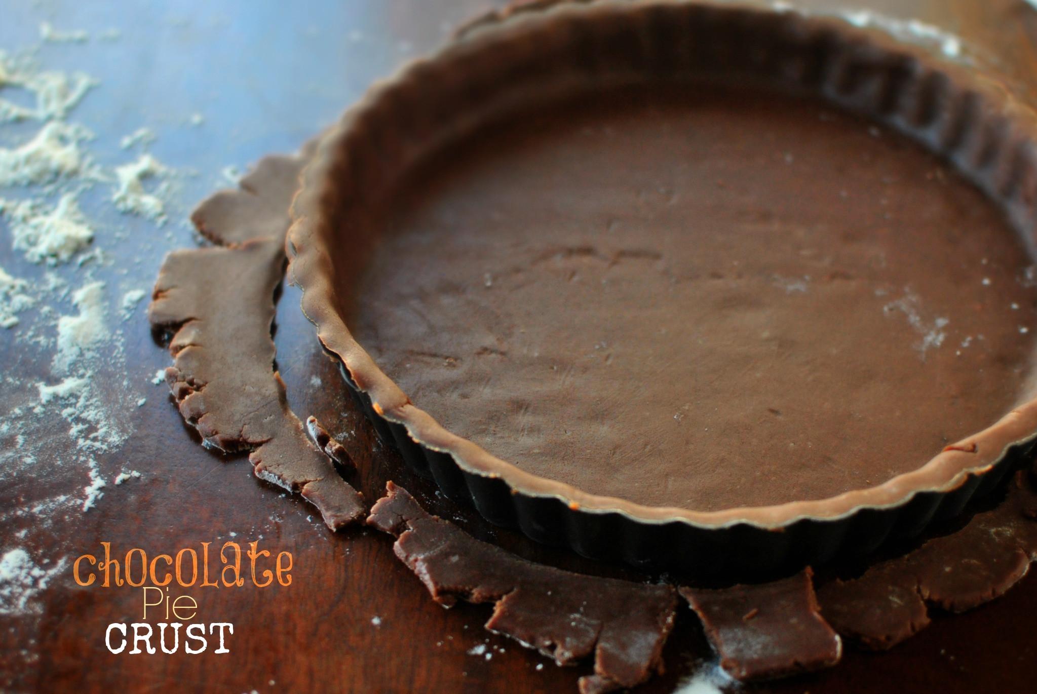 Chocolate Pie Crust  Simply Scratch Chocolate Pie Crust Simply Scratch