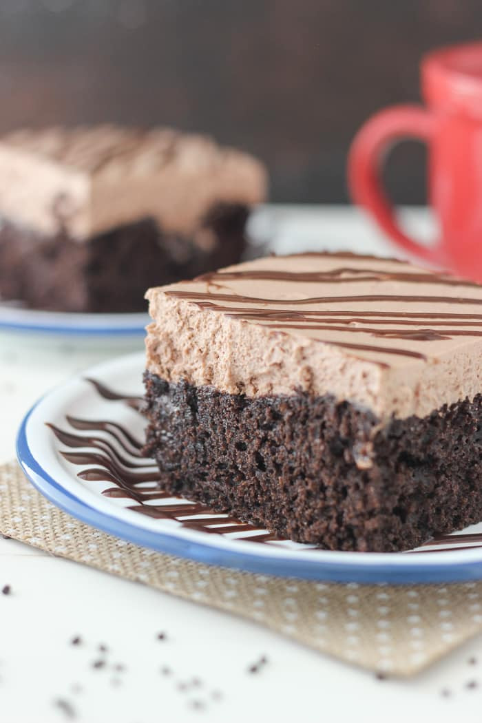 Chocolate Poke Cake  Hot Chocolate Poke Cake Chocolate Chocolate and More