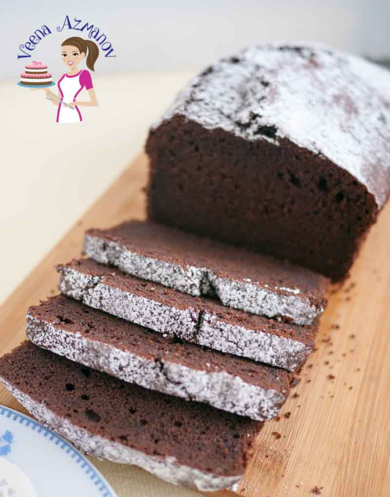 Chocolate Pound Cake  Classic Chocolate Pound Cake Recipe Veena Azmanov