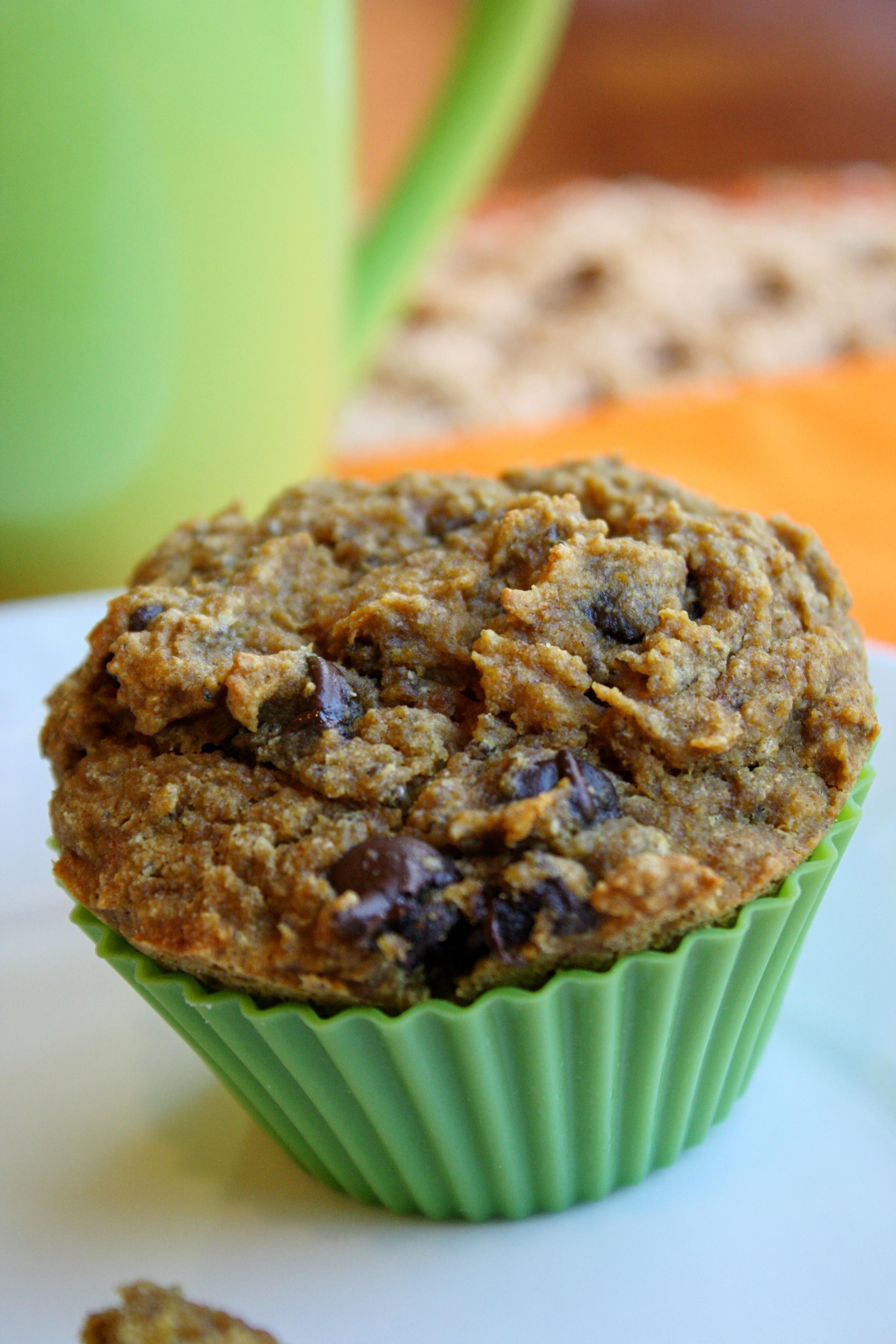 Chocolate Pumpkin Muffins  Pumpkin Chocolate Chip Muffins – Gluten Free & Vegan