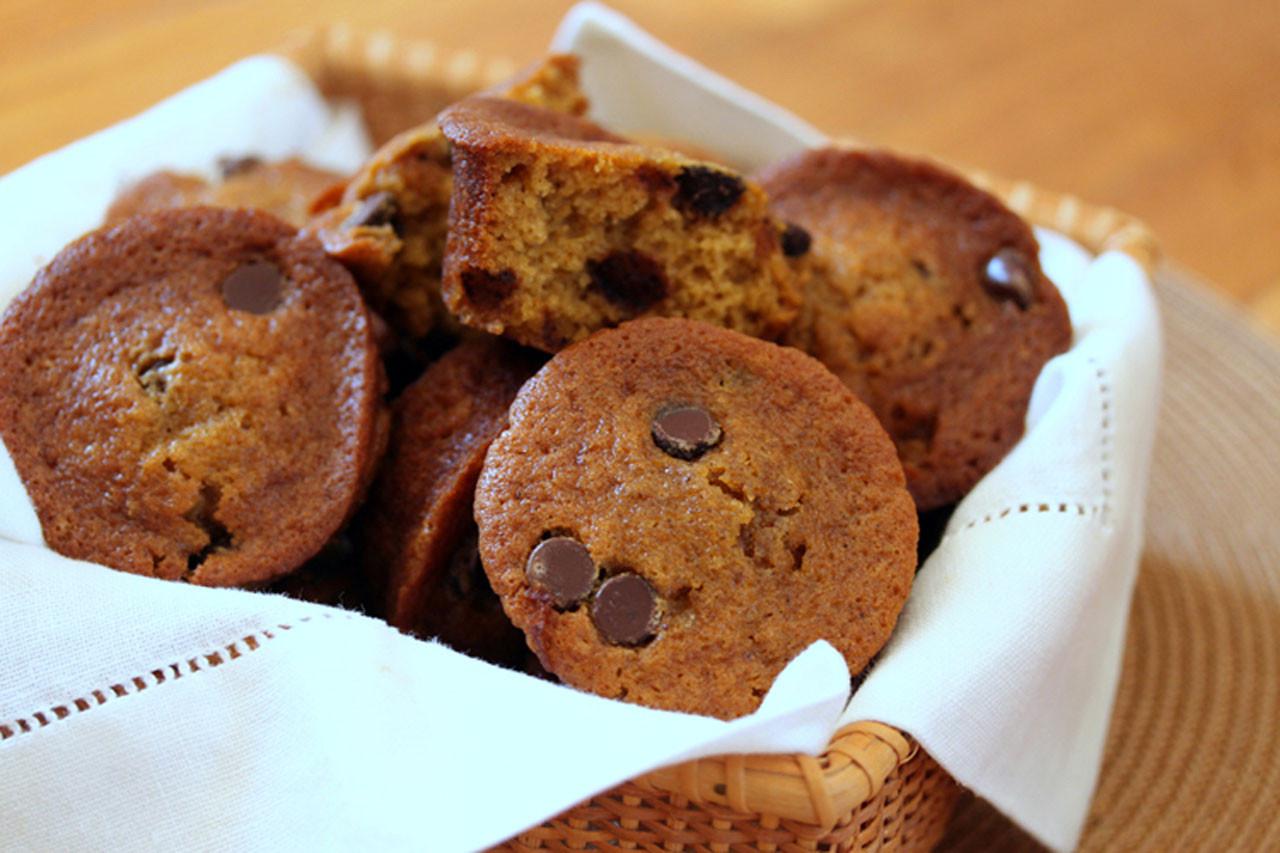 Chocolate Pumpkin Muffins  Chocolate Chip Pumpkin Muffins