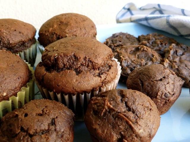 Chocolate Pumpkin Muffins  weight watchers pumpkin muffins smartpoints