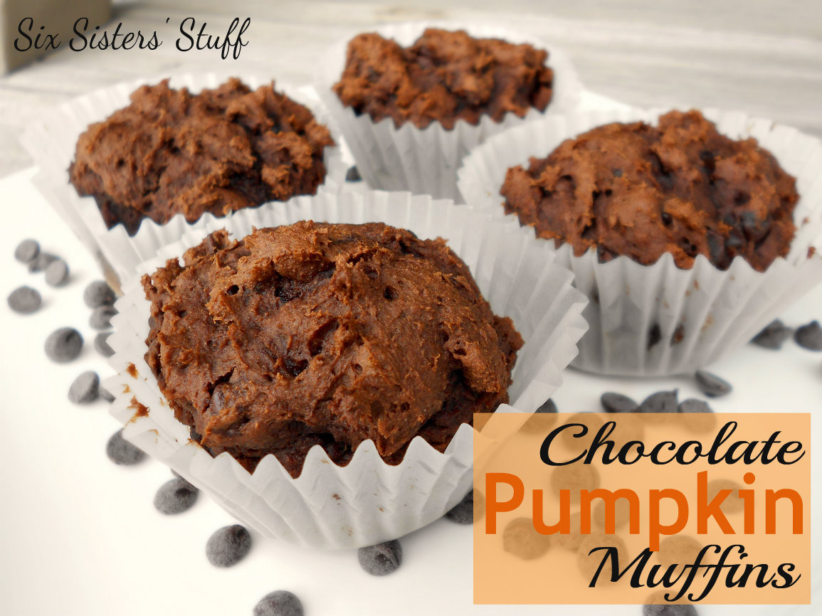 Chocolate Pumpkin Muffins  Chocolate Pumpkin Muffins ly 3 Ingre nts