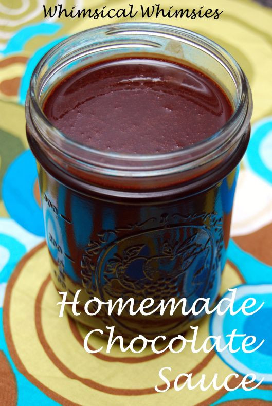 Chocolate Sauce With Cocoa Powder  Pinterest • The world's catalog of ideas