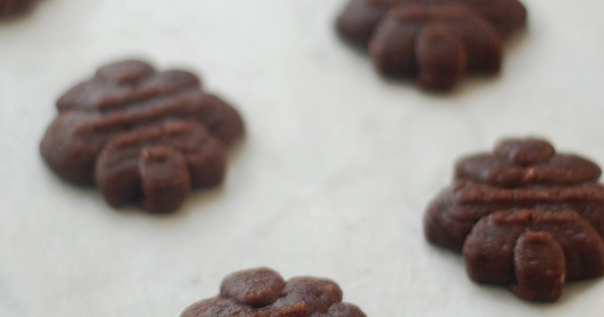 Chocolate Spritz Cookies  nodesserts Chocolate Spritz Cookies