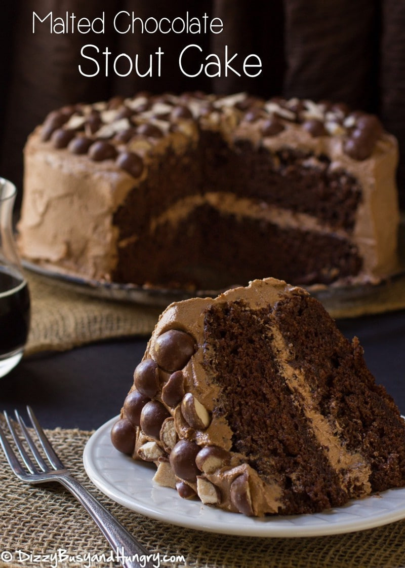 Chocolate Stout Cake  Malted Chocolate Stout Cake WeekdaySupper