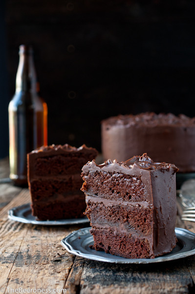 Chocolate Stout Cake  Epic Chocolate Stout Cake with Chocolate Bourbon Sour