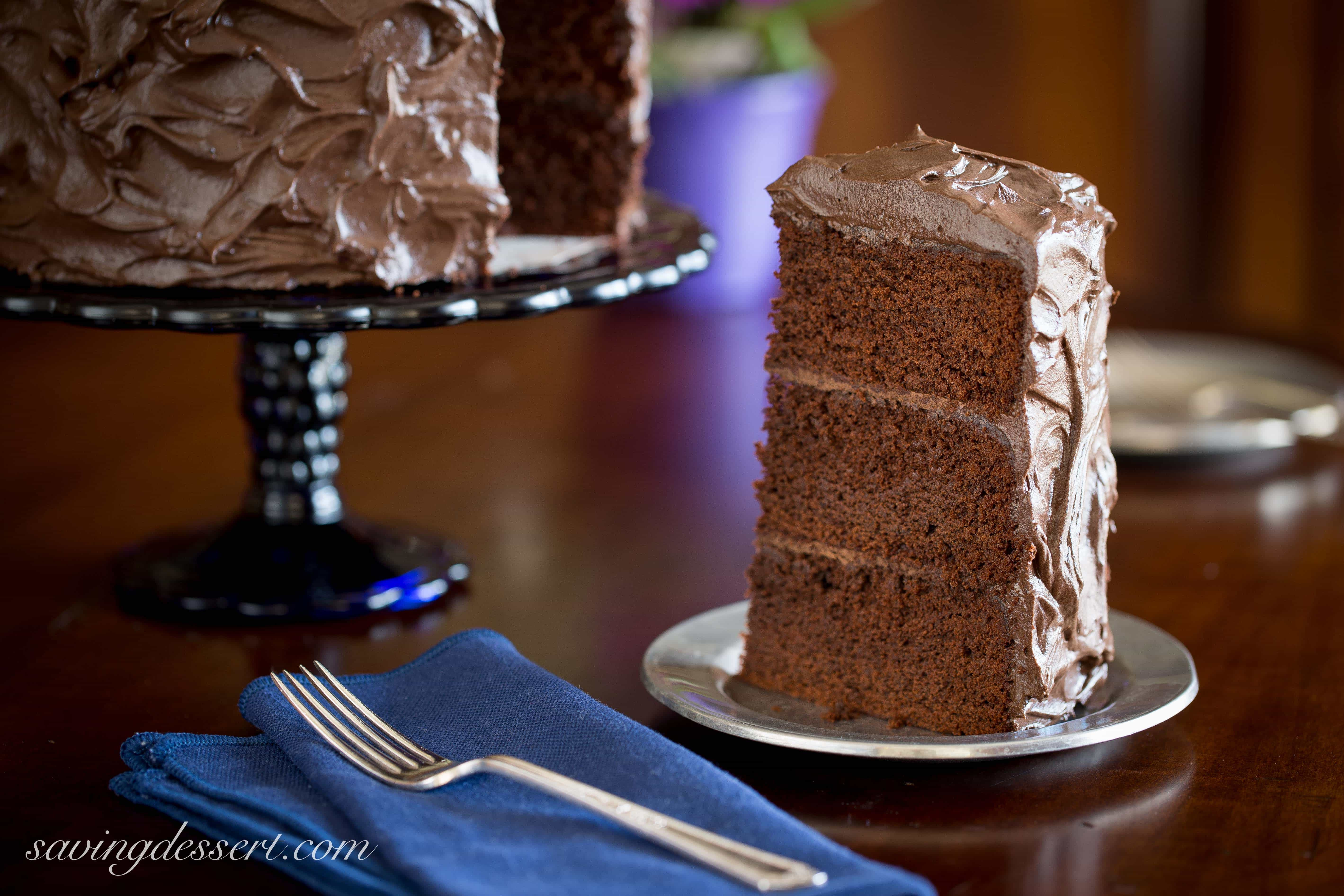 Chocolate Stout Cake  Chocolate Stout Cake Saving Room for Dessert