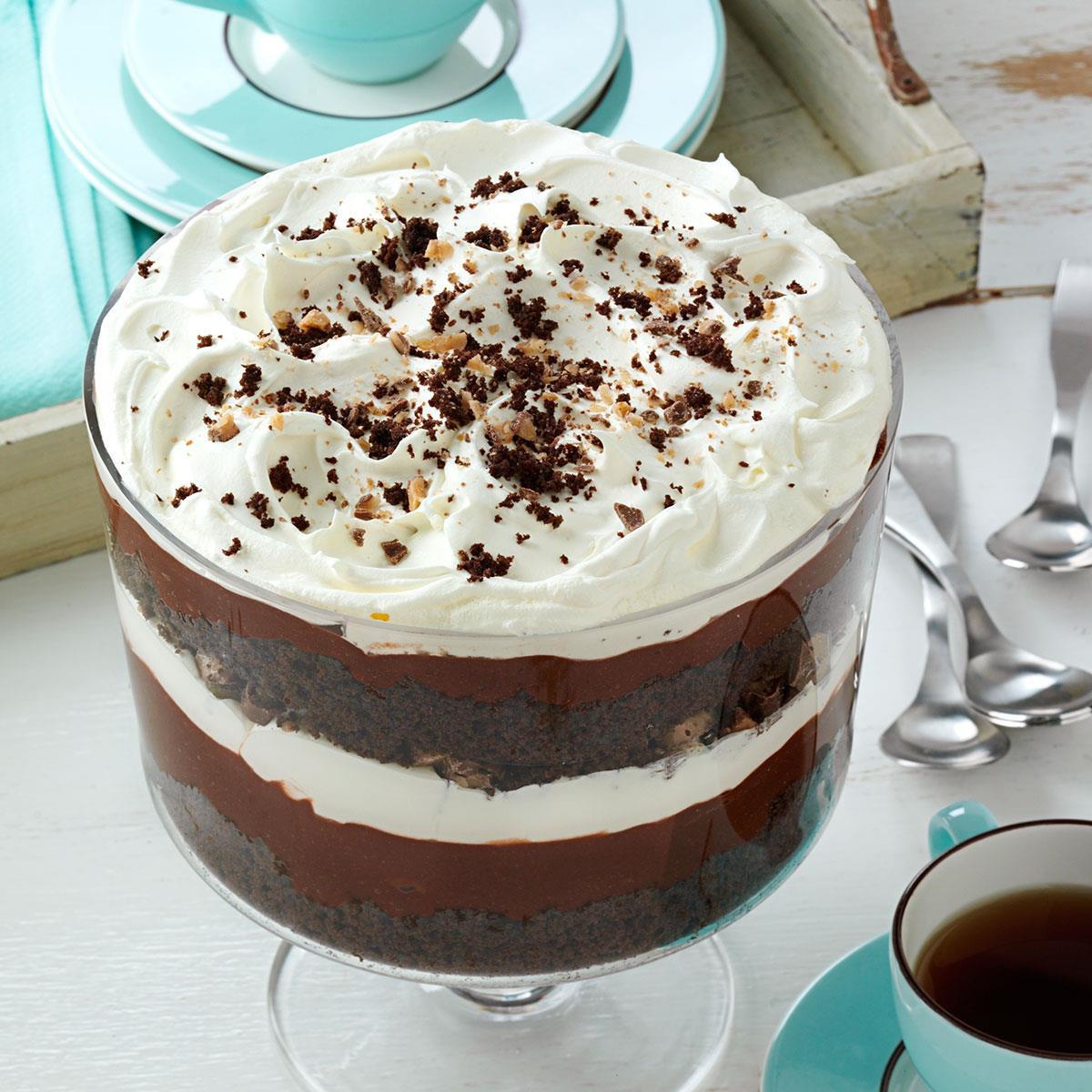 Chocolate Trifle Dessert  Chocolate Trifle Recipe