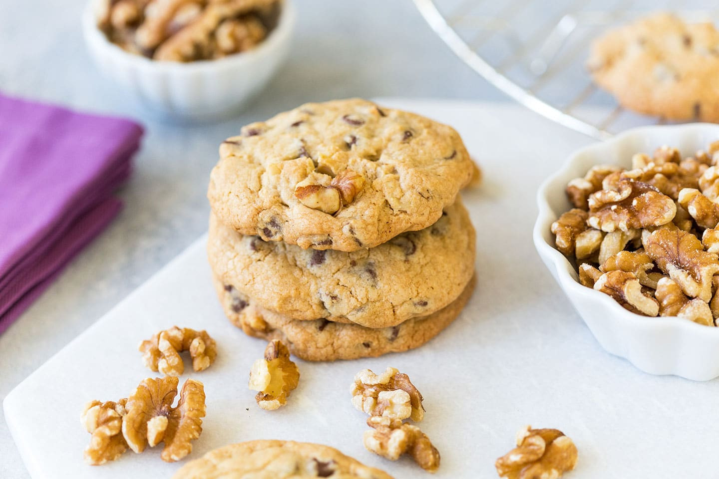 Chocolate Walnut Cookies  Chocolate Chip Walnut Cookies Easy and Delicious