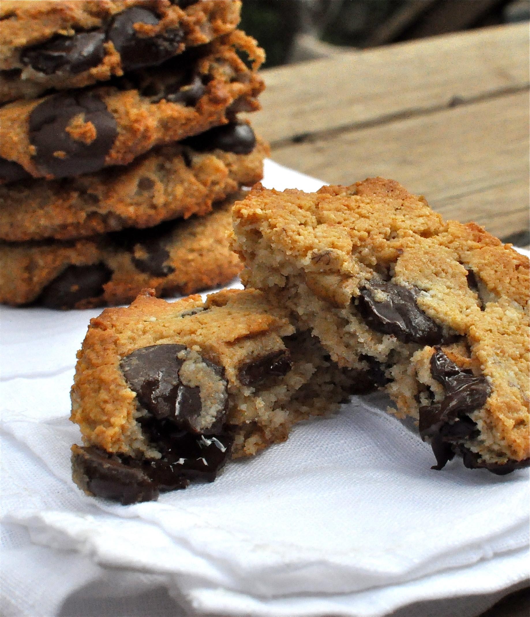 Chocolate Walnut Cookies  Paleo Dark Chocolate Chip Walnut Cookies Fed & Fit