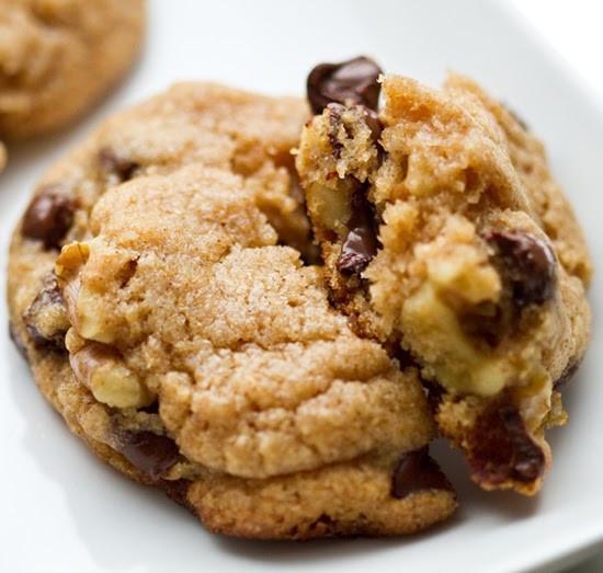 Chocolate Walnut Cookies  Chocolate Chip Walnut Cookies vegan