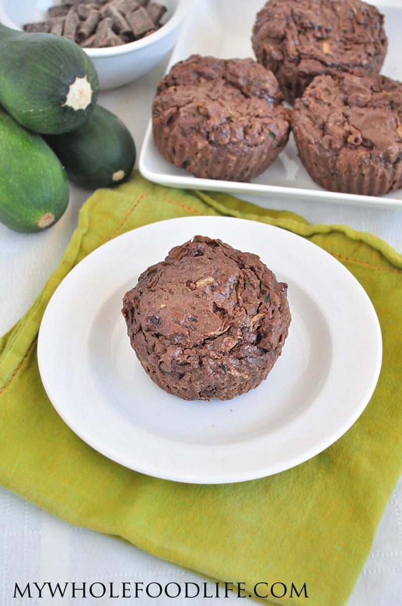 Chocolate Zucchini Muffins  Chocolate Zucchini Muffins Vegan and Gluten Free My