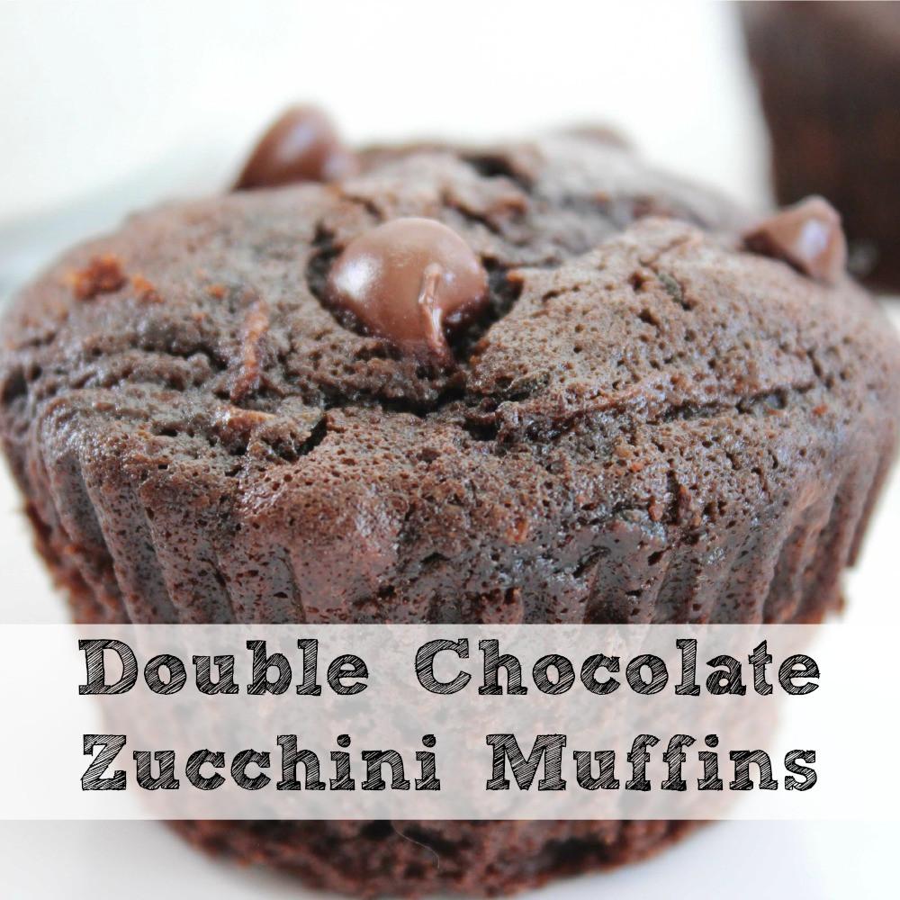 Chocolate Zucchini Muffins  Double Chocolate Zucchini Muffin Recipe