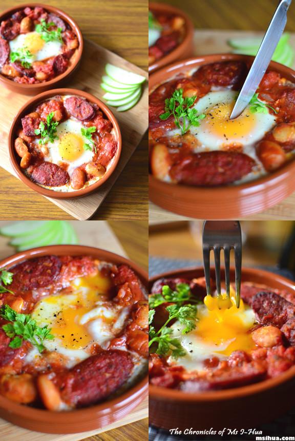 Chorizo Breakfast Recipes  A Lazy Sunday Breakfast Recipe Spanish Baked Eggs