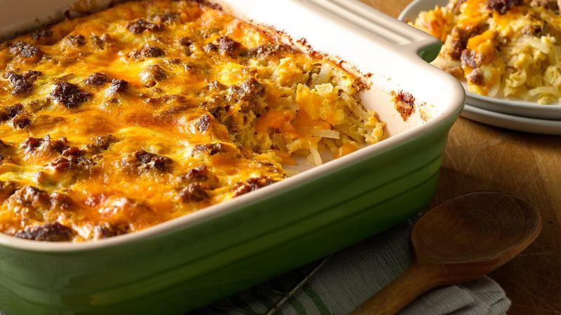 Chorizo Breakfast Recipes  Cheesy Chorizo Breakfast Casserole Recipe Tablespoon