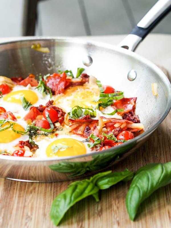 Chorizo Breakfast Recipes  Chorizo Breakfast Skillet with ions Tomatoes Eggs