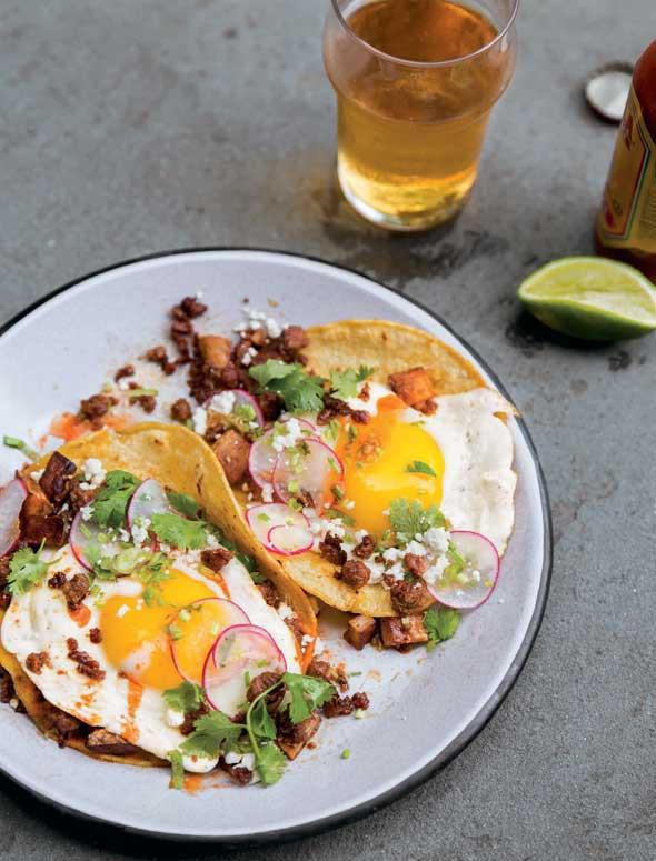Chorizo Breakfast Recipes  Chorizo Breakfast Tacos Recipe
