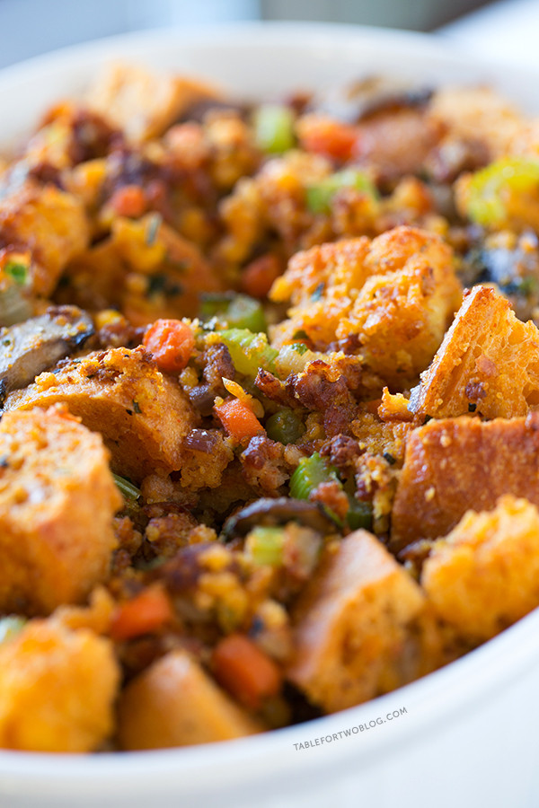 Chorizo Cornbread Stuffing  Corn Bread And Chorizo Stuffing Recipe — Dishmaps